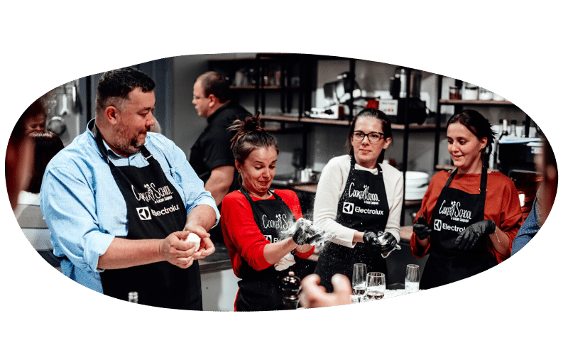 Организация кулинарного мастер-класса на корпоративы