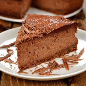Как готовить шоколадный чизкейк