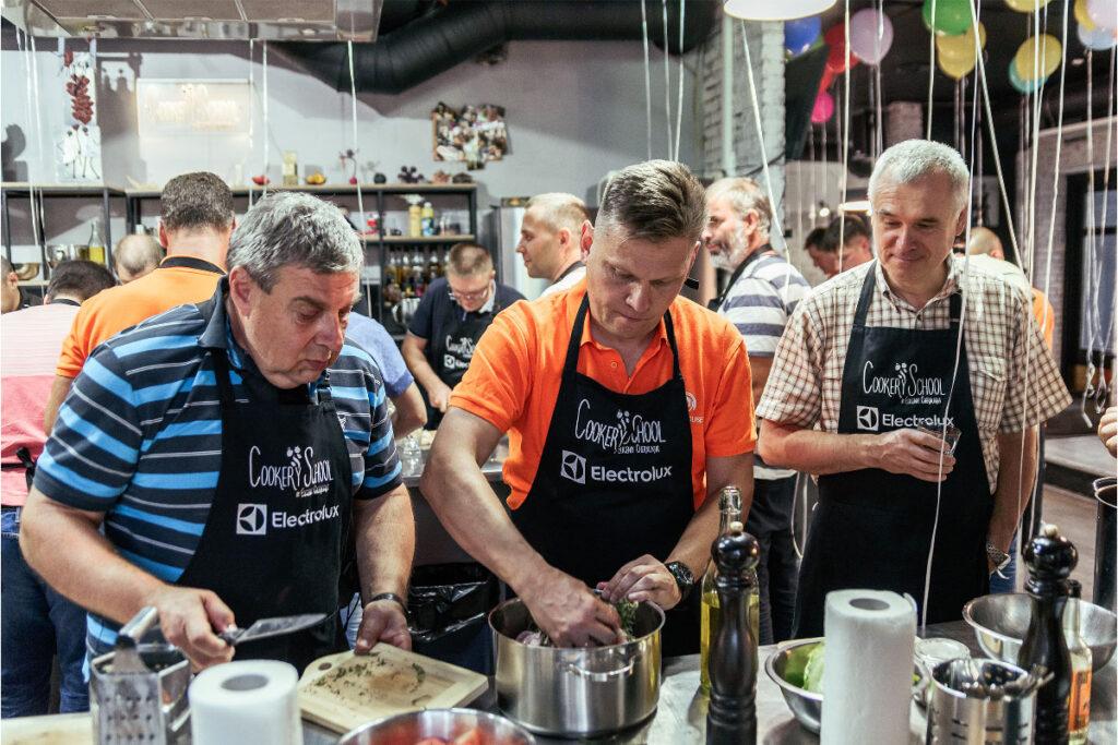 Организация кулинарного мастер-класса Киев