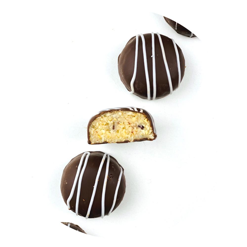 Научится готовить нарезные шоколадные конфеты