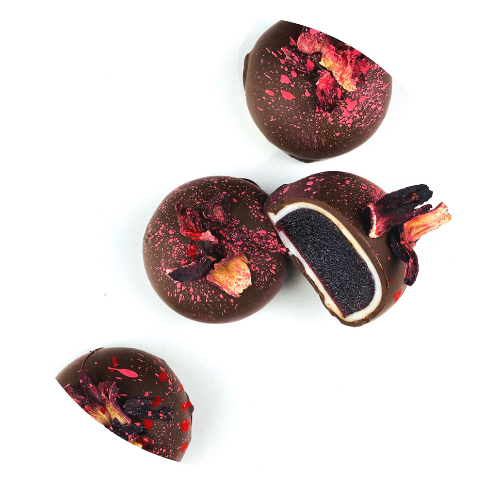 Виды начинок для шоколадных конфет
