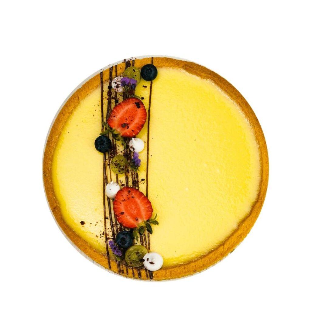Рецепт тарт с цитрусовой начинкой