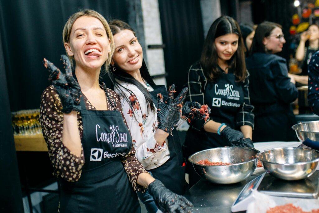 День Рождения в кулинарной студии Киев