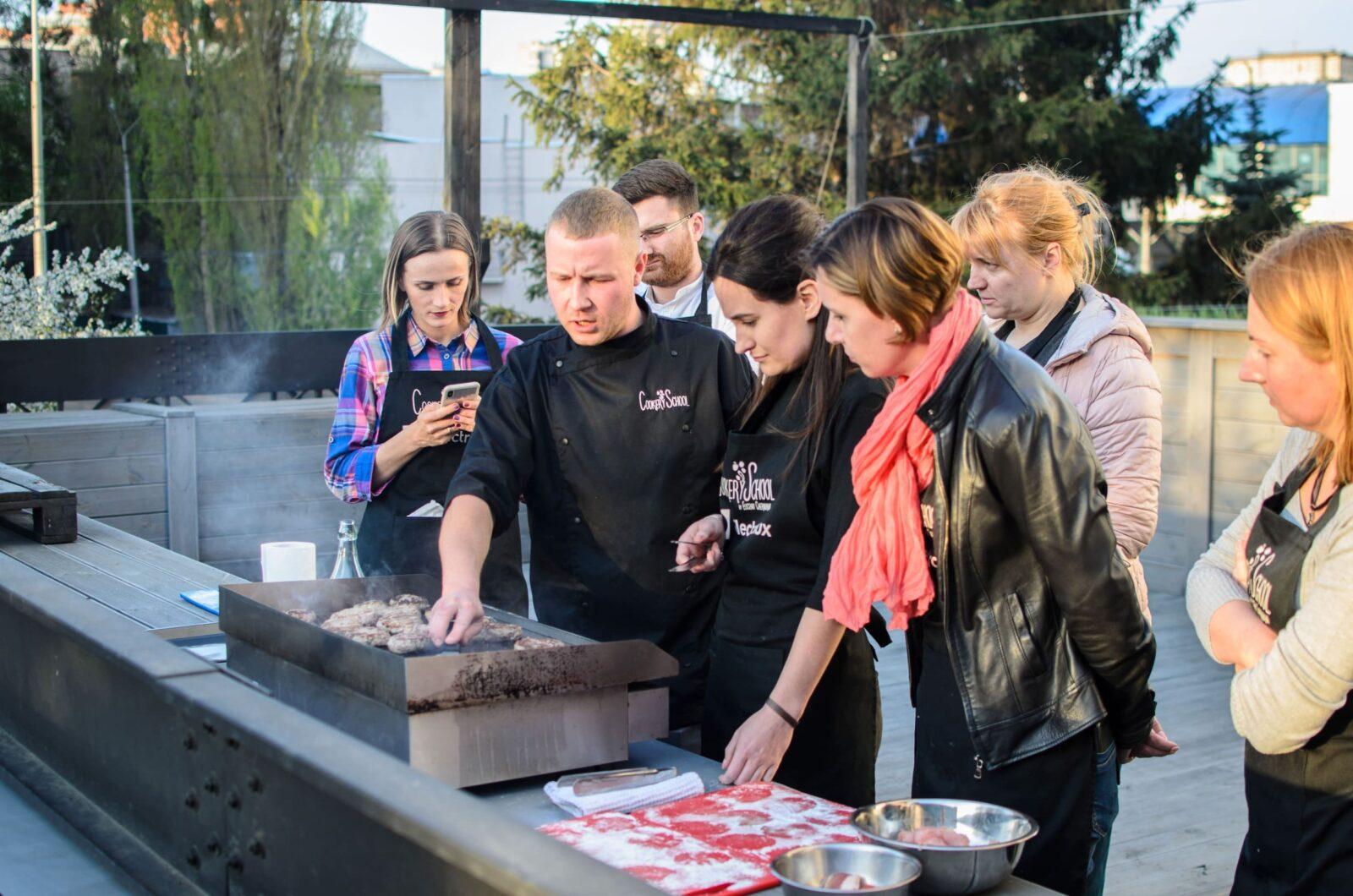 BBQ вечеринки в кулинарном формате