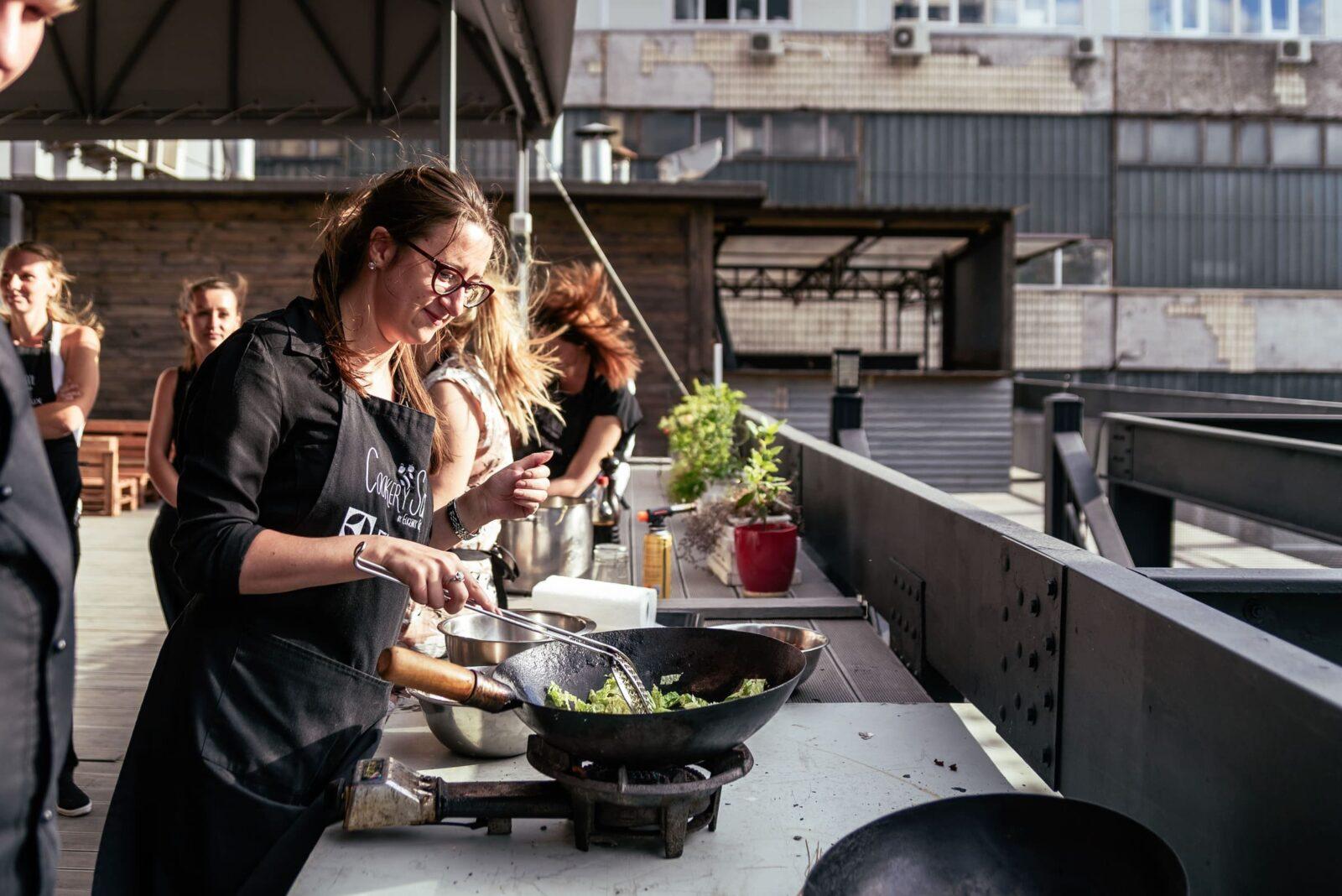Выездные кулинарные мастер-классы на природе