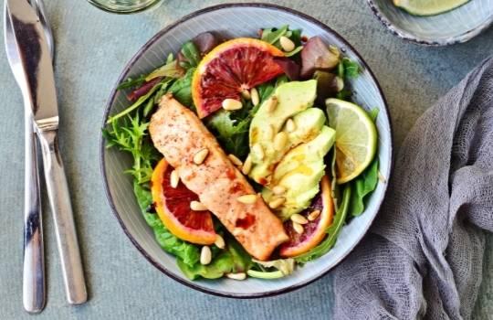 Рецепт блюд из лосося