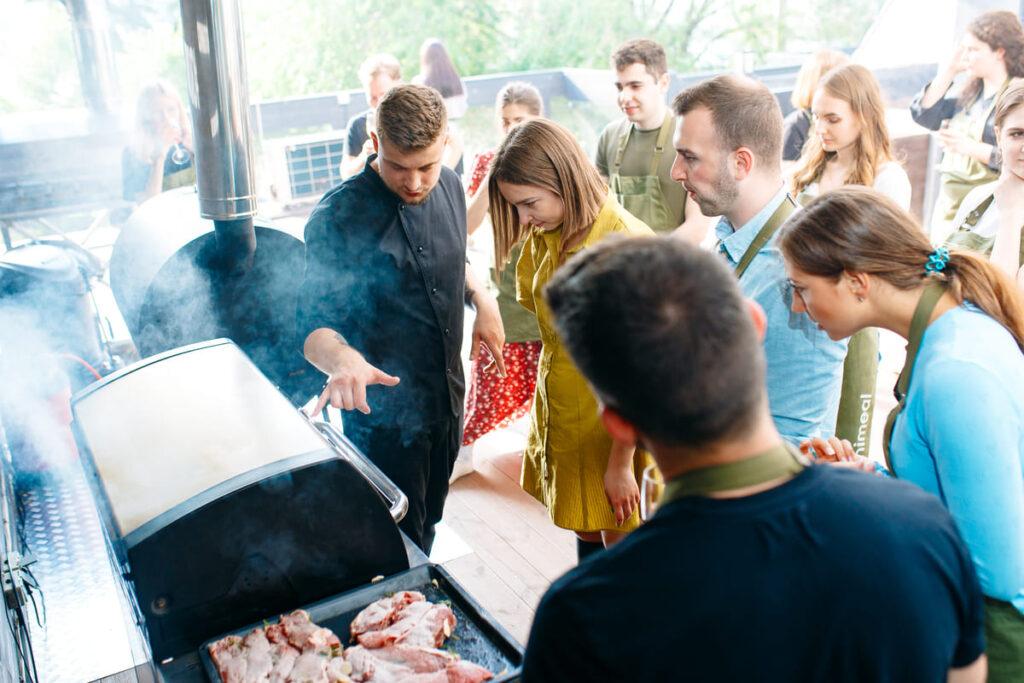 Мастер-класс по барбекю в Киеве
